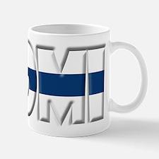 Word Art Flag of Suomi Mug