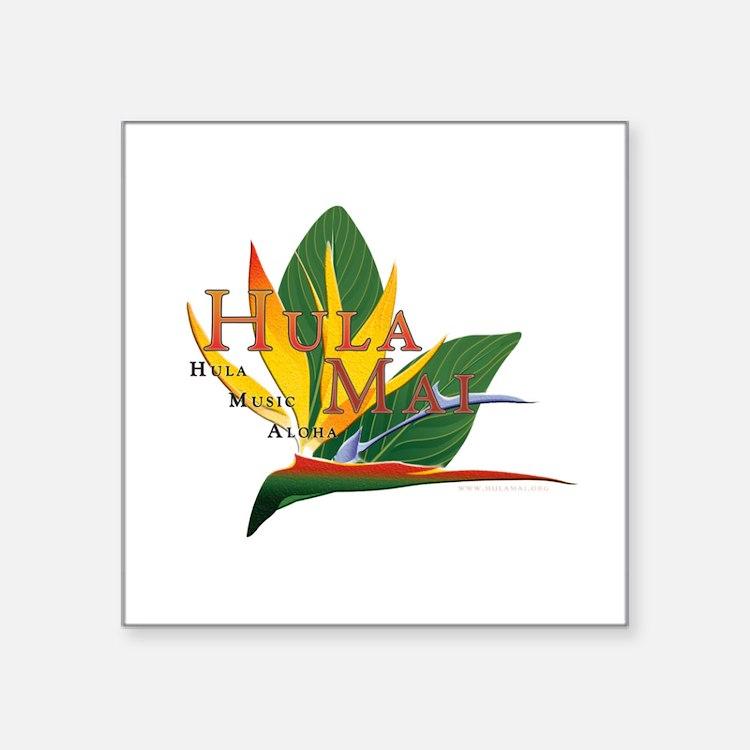 Hula Mai logo Sticker