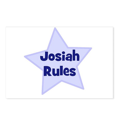 Josiah Rules Postcards (Package of 8)