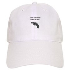 Because a cop is too heavy. Baseball Baseball Cap