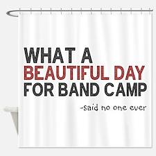 Band Camp Shower Curtain