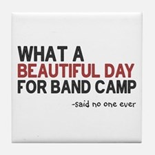 Band Camp Tile Coaster