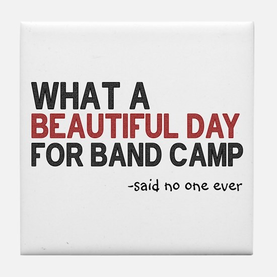 Band Camp Tile Coaster