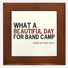 Band Camp Framed Tile