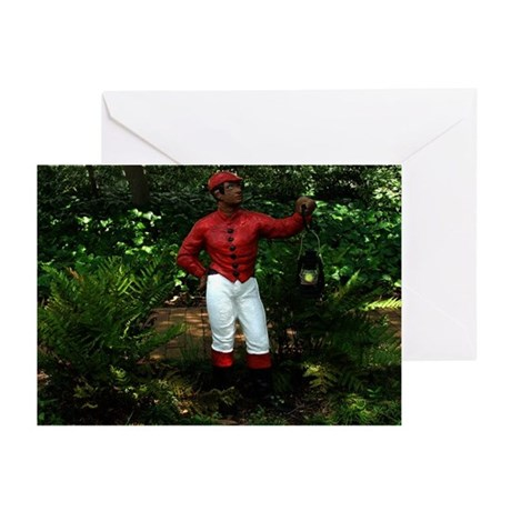 Jocko the Lawn Jockey