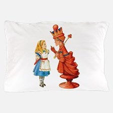 ALICE & THE RED QUEEN Pillow Case