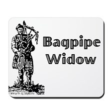 Bagpipe Widow Mousepad