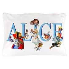 ALICE AND FRIENDS Pillow Case