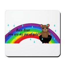 Rain Bear Mousepad