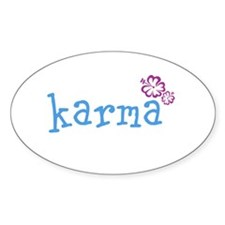 Karma Hawaian Lrg Stickers