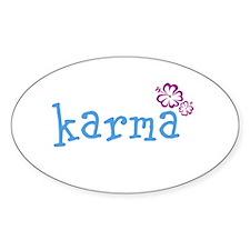 Karma Hawaian Lrg Stickers