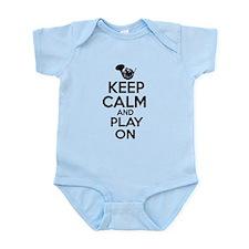 French Horn lover designs Infant Bodysuit