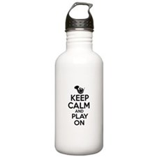 French Horn lover designs Water Bottle