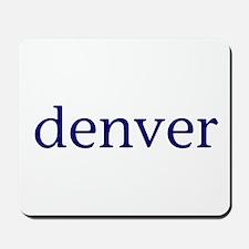 Denver Mousepad