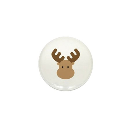 Moose Mini Button (10 pack)