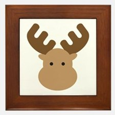 Moose Framed Tile