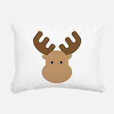 Moose Rectangular Canvas Pillow