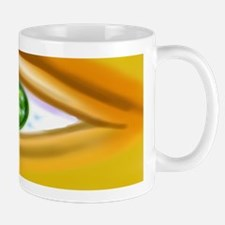 Gold faced eye Mug