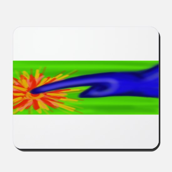 Hot touch finger Mousepad