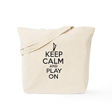 Harp lover designs Tote Bag