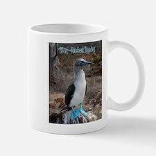Blue footed booby - Large Mug - boobie Mugs