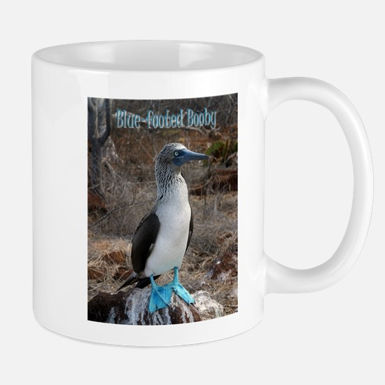 Blue footed booby - Large Mug - boobie Mugs