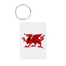 Wales football celebration Keychains