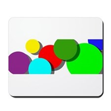 color celebration Mousepad