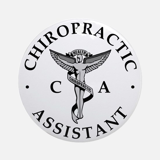 Chiro C.A. Logo Ornament (Round)