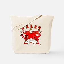 Wales football celebration Tote Bag