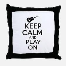 Guitar lover designs Throw Pillow