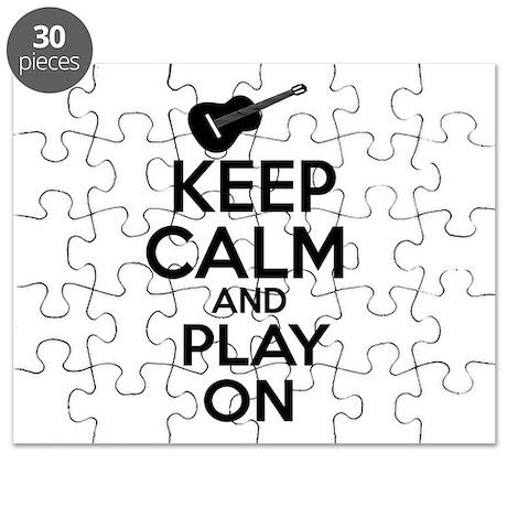 Guitar lover designs Puzzle