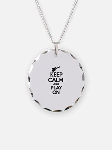 Ukulele lover designs Necklace
