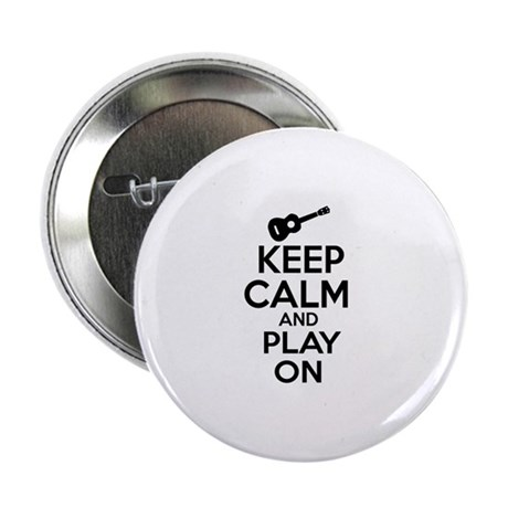 """Ukulele lover designs 2.25"""" Button"""
