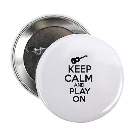 """Ukulele lover designs 2.25"""" Button (100 pack)"""
