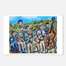 Del McCoury Painting Postcards (Package of 8)