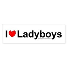 Ladyboys Car Sticker