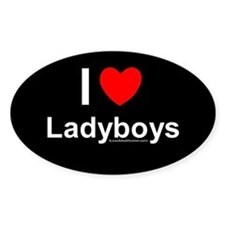 Ladyboys Decal