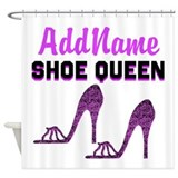 Addicted shoes Shower Curtains