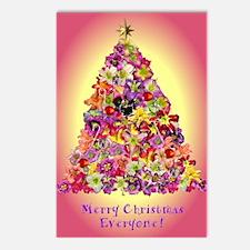 O Christmas Christmas Tre Postcards (Package of 8)