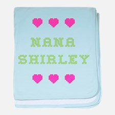 Nana Shirley baby blanket