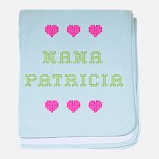 Nana Patricia baby blanket