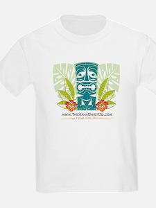 Hana Shirt Co. Tiki style Kids T-Shirt