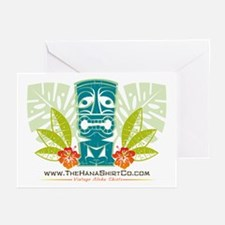 Hana Shirt Co. Tiki style Greeting Cards (Package