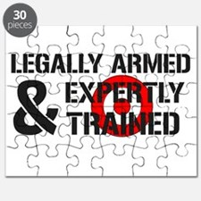 Legally Armed Expertly Trained Puzzle