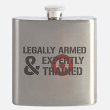 Legally Armed Expertly Trained Flask