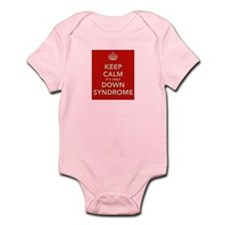Kee Calm It's Only Down Syndrome Infant Bodysuit