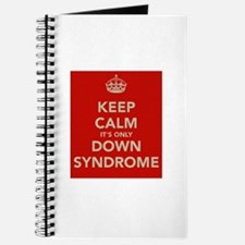 Kee Calm It's Only Down Syndrome Journal
