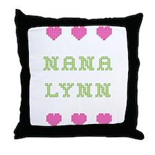 Nana Lynn Throw Pillow