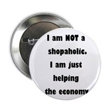 "Shopaholic 2.25"" Button"